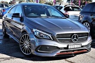 2017 Mercedes-Benz CLA-Class C117 807MY CLA250 DCT 4MATIC Sport Grey 7 Speed.