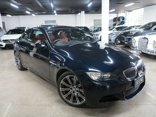 Used BMW M3 E92 M-DCT Albion, 2009 BMW M3 E92 M-DCT Carbon Black 7 Speed Sports Automatic Dual Clutch Coupe