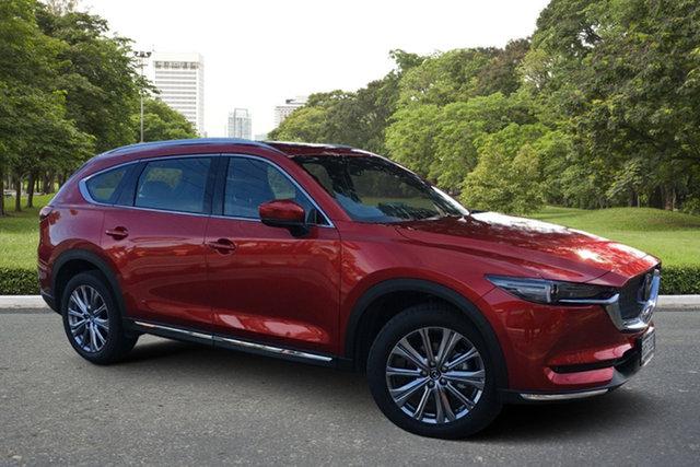 Demo Mazda CX-8 KG4W2A Asaki SKYACTIV-Drive i-ACTIV AWD LE Paradise, 2021 Mazda CX-8 KG4W2A Asaki SKYACTIV-Drive i-ACTIV AWD LE Soul Red 6 Speed Sports Automatic Wagon