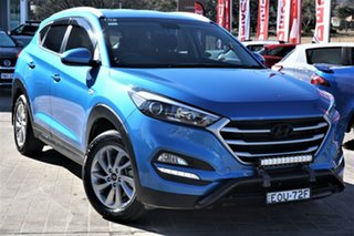 2017 Hyundai Tucson TLe MY17 Active AWD Blue 6 Speed Sports Automatic Wagon.