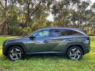 2021 Hyundai Tucson NX4.V1 MY22 Highlander (AWD) Amazon Gray 7 Speed Auto Dual Clutch Wagon.
