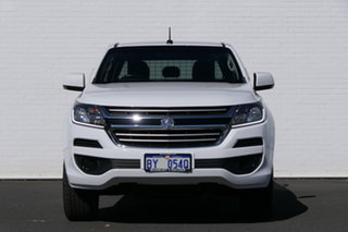 2016 Holden Colorado RG MY16 LS Crew Cab Summit White 6 Speed Manual Cab Chassis.