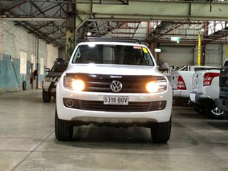 2013 Volkswagen Amarok 2H MY13 TDI420 4Motion Perm Ultimate White 8 Speed Automatic Utility.
