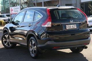 2013 Honda CR-V RM VTi-L 4WD Crystal Black 5 Speed Automatic Wagon.