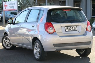 2010 Holden Barina TK MY10 Nitrate Silver 5 Speed Manual Hatchback.