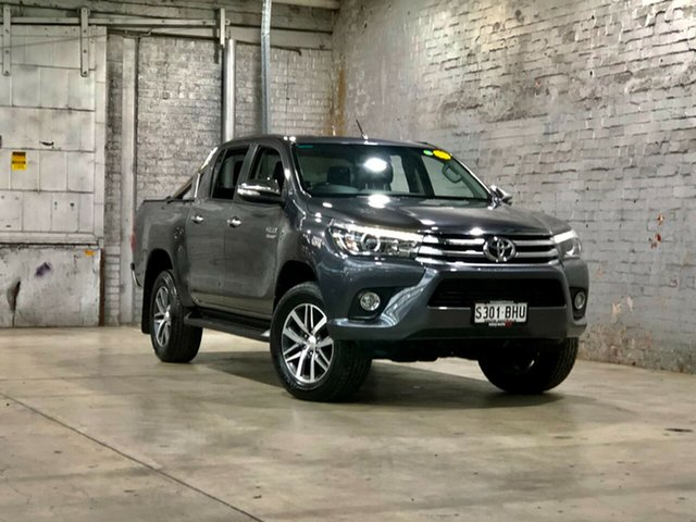 Used Toyota Hilux GUN126R SR5 Double Cab Mile End South, 2015 Toyota Hilux GUN126R SR5 Double Cab Grey 6 Speed Sports Automatic Utility