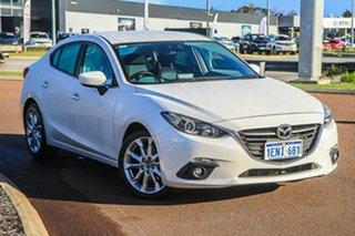 2013 Mazda 3 BL10L2 MY13 SP25 Activematic White 5 Speed Sports Automatic Sedan.