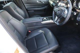 2013 Mercedes-Benz E-Class W212 MY13 E250 7G-Tronic + White 7 Speed Sports Automatic Sedan