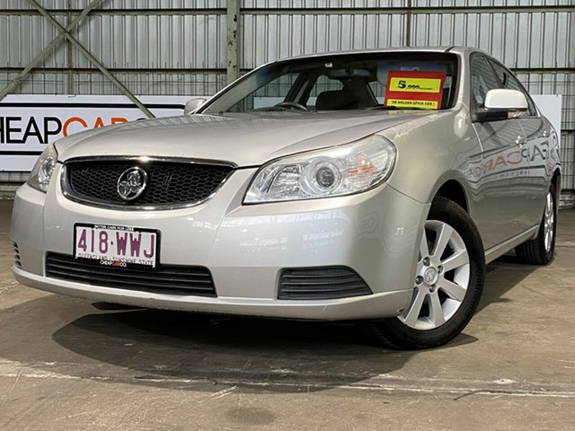 Used Holden Epica EP MY09 CDX Rocklea, 2009 Holden Epica EP MY09 CDX Silver 6 Speed Sports Automatic Sedan