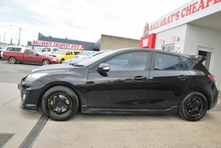 2010 Mazda 3 BL MPS Luxury Black 6 Speed Manual Hatchback.