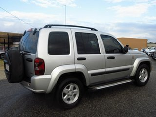 2007 Jeep Cherokee KJ MY05 Upgrade Sport (4x4) Silver 4 Speed Automatic Wagon.