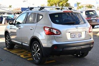 2013 Nissan Dualis J10W Series 3 MY12 Ti-L Hatch 2WD Silver 6 Speed Manual Hatchback.