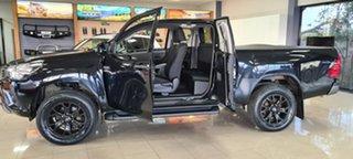 2018 Toyota Hilux GUN136R SR Extra Cab 4x2 Hi-Rider Black 6 Speed Sports Automatic Utility
