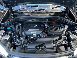 2016 BMW X1 F48 xDrive 20D Black Sapphire 8 Speed Automatic Wagon