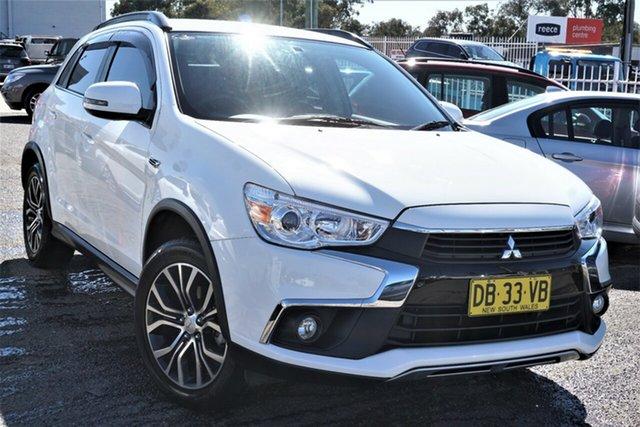 Used Mitsubishi ASX XC MY17 LS 2WD Phillip, 2016 Mitsubishi ASX XC MY17 LS 2WD White 6 Speed Constant Variable Wagon