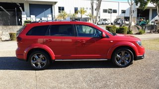 2015 Fiat Freemont JF MY15 Crossroad Red 6 Speed Automatic Wagon.