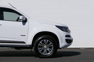 2016 Holden Colorado RG MY16 LS Crew Cab Summit White 6 Speed Manual Cab Chassis