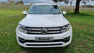 2021 Volkswagen Amarok 2H MY21 TDI580 4MOTION Perm Highline White 8 Speed Automatic Utility.