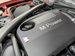 2016 BMW M3 F80 LCI M-DCT Orange 7 Speed Sports Automatic Dual Clutch Sedan