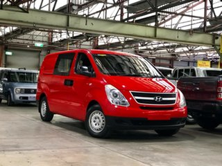 2009 Hyundai iLOAD TQ-V Red 5 Speed Manual Van