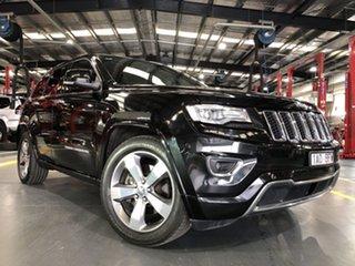 2014 Jeep Grand Cherokee WK MY14 Overland (4x4) 8 Speed Automatic Wagon.