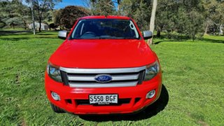 2014 Ford Ranger PX XLS Double Cab Red 6 Speed Manual Utility.
