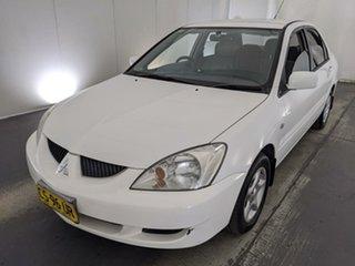 2004 Mitsubishi Lancer CH LS White 4 Speed Automatic Sedan.