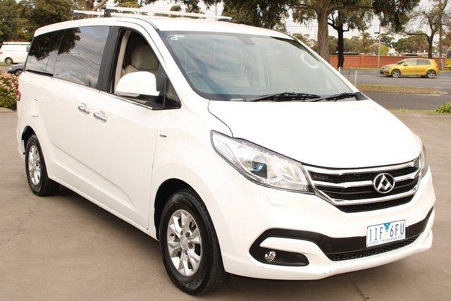 Used LDV G10 SV7A (9 Seat Mpv) West Footscray, 2016 LDV G10 SV7A (9 Seat Mpv) White 6 Speed Automatic Wagon