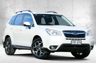 2013 Subaru Forester S4 MY13 2.5i-S Lineartronic AWD Satin White 6 Speed Constant Variable Wagon.