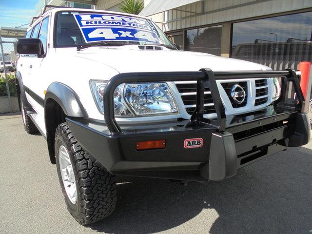 Used Nissan Patrol GU III MY2002 ST Edwardstown, 2002 Nissan Patrol GU III MY2002 ST White 5 Speed Manual Wagon