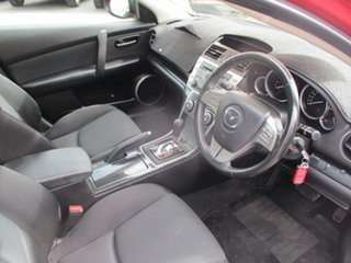 2008 Mazda 6 GH Classic Pearl Red 5 Speed Auto Activematic Hatchback