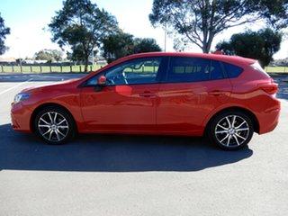 2016 Subaru Impreza G5 MY17 2.0i Premium CVT AWD Red 7 Speed Constant Variable Hatchback.