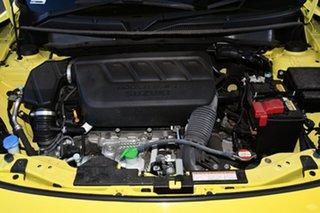 2018 Suzuki Swift AZ Sport Yellow 6 Speed Manual Hatchback