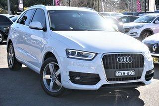 2015 Audi Q3 8U MY14 TFSI S Tronic White 6 Speed Sports Automatic Dual Clutch Wagon.