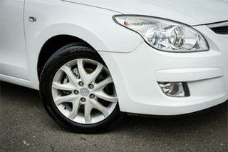 2009 Hyundai i30 FD MY09 SLX White 4 Speed Automatic Hatchback.