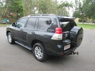 2010 Toyota Landcruiser Prado KDJ150R Kakadu Grey 5 Speed Sports Automatic Wagon.