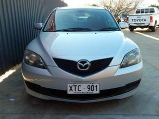 2008 Mazda 3 BK10F2 MY08 Neo Sport Silver 4 Speed Sports Automatic Hatchback.
