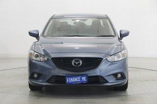 2013 Mazda 6 GJ1031 Touring SKYACTIV-Drive Steel Blue 6 Speed Sports Automatic Sedan.