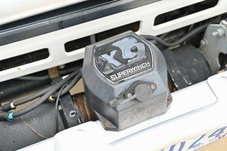 2006 Toyota Landcruiser HZJ79R White 5 Speed Manual Cab Chassis.