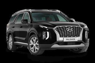 2020 Hyundai Palisade LX2.V1 MY21 Highlander AWD Timeless Black 8 Speed Sports Automatic Wagon