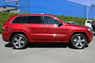 2015 Jeep Grand Cherokee WK MY15 Overland Red 8 Speed Sports Automatic Wagon.
