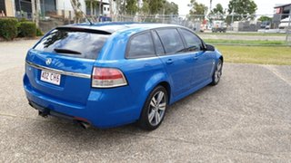 2014 Holden Commodore VF MY15 SV6 Blue 6 Speed Automatic Sportswagon.