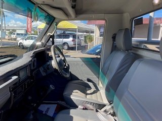 2007 Toyota Landcruiser - Workmate White Cab Chassis.