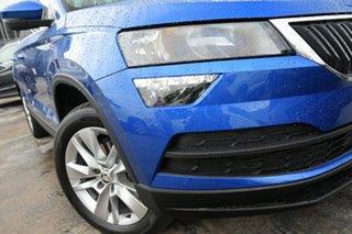 2021 Skoda Karoq NU MY21 110TSI FWD Race Blue 8 Speed Automatic Wagon.