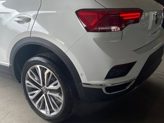 2021 Volkswagen T-ROC A1 MY21 110TSI Style White 8 Speed Sports Automatic Wagon