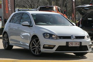 2016 Volkswagen Golf VII MY17 110TSI DSG Highline White 7 Speed Sports Automatic Dual Clutch.