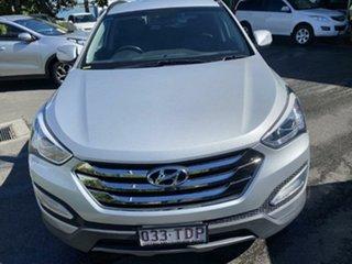 2013 Hyundai Santa Fe DM MY13 Elite Shimmering Silver 6 Speed Sports Automatic Wagon.
