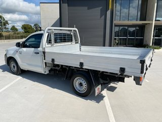 2015 Toyota Hilux TGN16R MY14 Workmate 4x2 White 4 Speed Automatic Cab Chassis