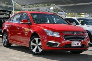 2016 Holden Cruze JH Series II MY16 Z-Series Red 6 Speed Sports Automatic Sedan.