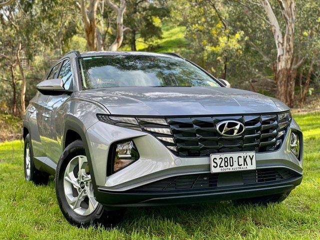 Demo Hyundai Tucson NX4.V1 MY22 2WD Reynella, 2021 Hyundai Tucson NX4.V1 MY22 2WD Shimmering Silver 6 Speed Automatic Wagon